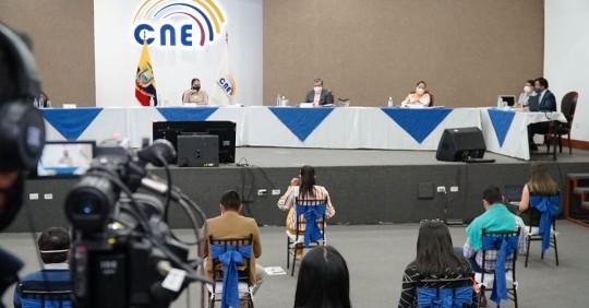 Consejo Electoral de Ecuador elimina a grupo político de Correa y otros tres / Cortesía del Consejo Nacional Electoral