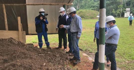 Petroecuador continúa con las tareas de remediación ambiental en Orellana y Sucumbíos / Foto: Cortesía de Petroecuador