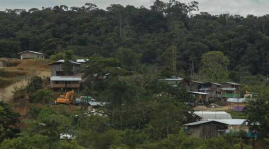 La parroquia Nuevo Paraíso está ubicada en la zona del Alto Nangaritza. La mayoría de la población es shuar y no tiene fuentes de empleo. Foto: El Comercio