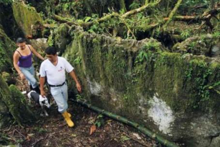 NATURAL. Los laberintos de Chiguasa tienen una extensión de 2 hectáreas y son formaciones naturales. Foto: La Hora