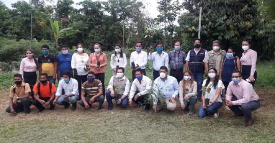 1.000 hectáreas de bosque degradado serán recuperadas en Sucumbíos / Cortesía del MAAE