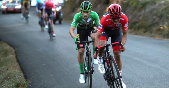 """Carapaz: """"Roglic está muy fuerte y la carrera muy abierta"""" / Foto: EFE"""