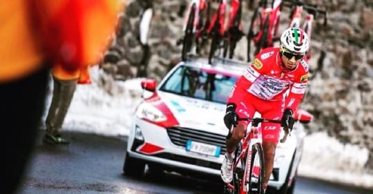 Ecuador, protagonista del Giro de Italia / Cortesía de Alexander Cepeda
