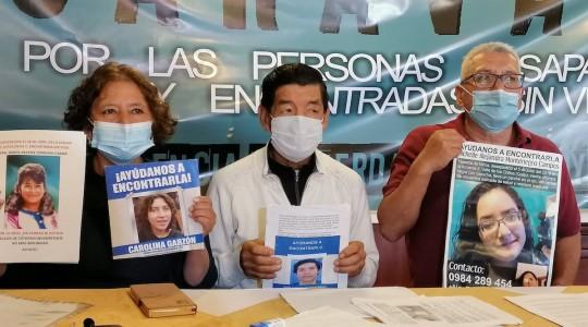 Asociación de desaparecidos en Ecuador pide una reunión a la Fiscalía General / Foto EFE