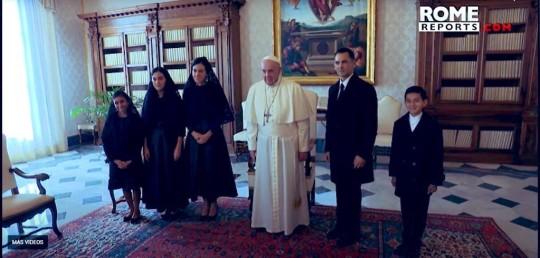 El papa recibe a vicepresidenta Muñoz y pidió solidaridad en la pandemia / Foto: EFE