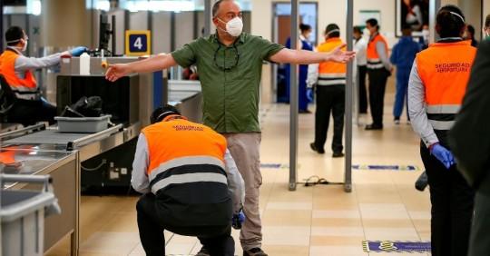 El aeropuerto de Quito recupera casi el 80 % de las frecuencias prepandemia/ Foto: EFE