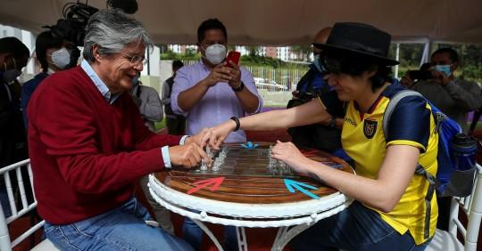 La UE felicita a Guillermo Lasso / Foto: EFE