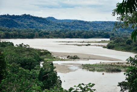 The Napo River. Image: Clarissa Wei