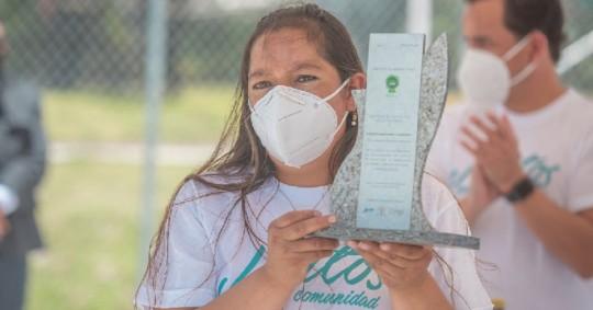 'Casa Para Todos', reconocida por iniciativas medio ambientales / Cortesía del Ministerio del Ambiente