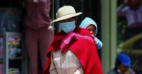 La mujer ha sido la gran víctima de la pandemia en Ecuador / Foto: EFE