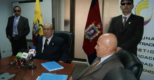 El juez que emitió la sentencia contra Chevron el 14 de febrero, 2011, en la Corte Provincial de Sucumbíos está siendo investigado por la Fiscalía General / Foto: El Oriente