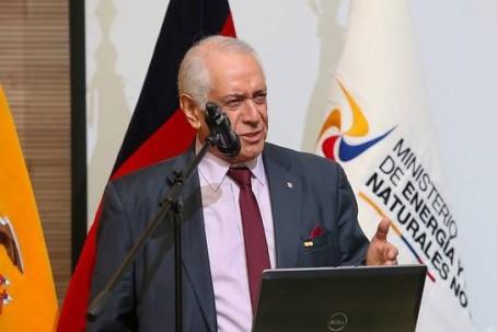 René Ortiz, Ministro de Energía. Foto: El Universo