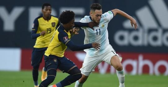 Ecuador cayó 0-1 en su debut en las eliminatorias / Foto: EFE