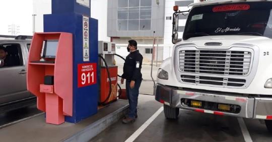 El nuevo precio de la gasolina Extra es $ 2.39 / Foto: cortesía Agencia de Regulación y Control de Energía y Recursos Naturales no Renovables