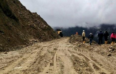 En 14 provincias se han registrado 62 eventos peligrosos por lluvias. Foto: Obras Públicas Ec. Foto: Ecuavisa