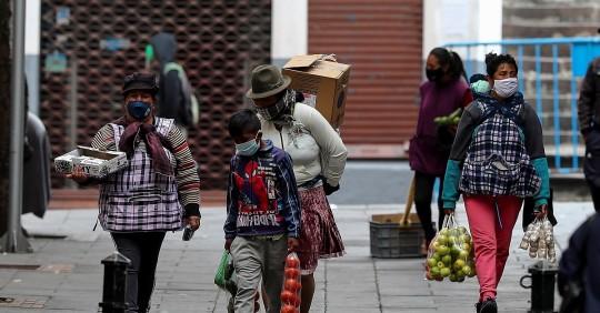 Ecuador registra 134.965 positivos y 11.280 fallecidos por Covid-19 / Foto: EFE