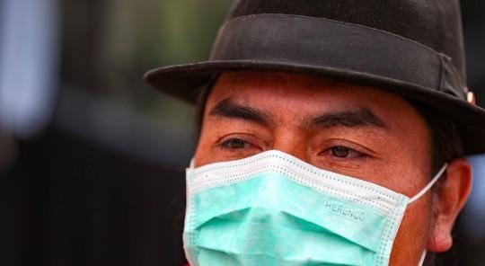 Indígenas de Ecuador designan a Leonidas Iza para presidir la Conaie / Foto EFE