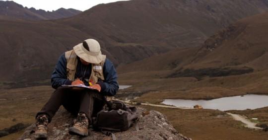 IIGE inicia el levantamiento de información geológica en 3 provincias / Cortesía del Instituto Geológico y Energético (IIGE)