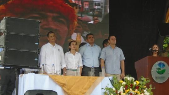Se inauguró el Parque Turístico Nueva Loja - Foto: Radios Sucumbios