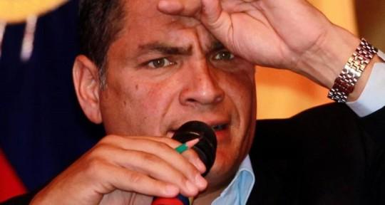 Bajo el régimen del presidente Rafael Correa, la economía de Ecuador ha quedado en ruinas. AP
