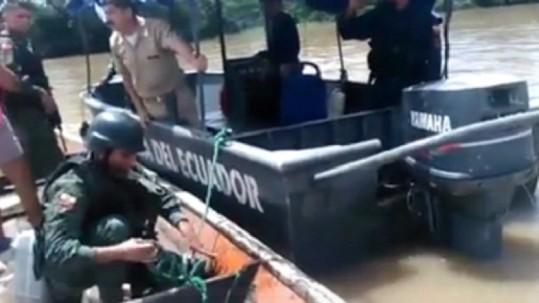 El suceso ocurrió durante un operativo contra el contrabando de combustible en la frontera norte. Foto: Expreso