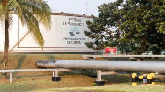Imagen referencial. Petroecuador informó que planificó la construcción de una nueva variante del Oleoducto Transecuatoriano en San Rafael. Foto: Petroecuador