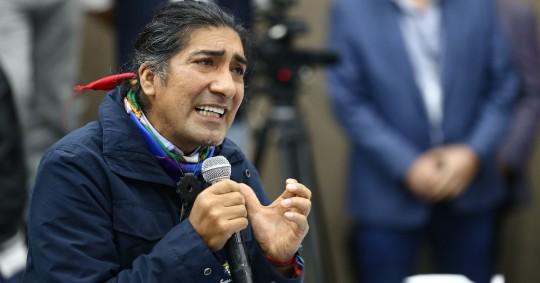 Indígenas convocan a movilización para exigir recuento de votos / Foto EFE