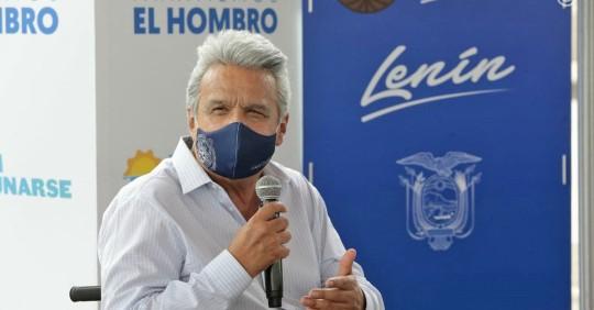 Lenín Moreno dice que ministro Zevallos no tenía plan de vacunación / Foto: Cortesía de la Presidencia