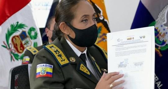 Ecuador y Perú afinan estrategias comunes contra la delincuencia organizada / Foto: EFE