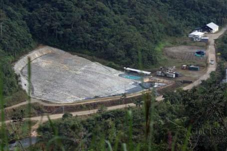 ANUNCIO. La entrada en producción del proyecto Fruta del Norte se retrasaría un mes. Foto: La Hora