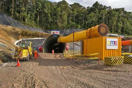 MINERÍA. El proyecto minero Fruta del Norte está ubicado en el cantón Yantzaza de la provincia de Zamora Chinchipe. Foto: La Hora