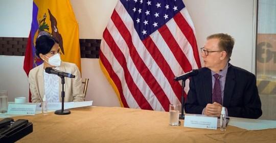 EEUU impulsa control aduanero más eficiente contra el narcotráfico en Ecuador / Foto: Cortesia de la Embajada de Estados Unidos