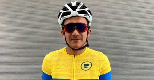 Richard Carapaz representará al país en los Juegos Olímpicos / Foto: Cortesía de Richard Carapaz
