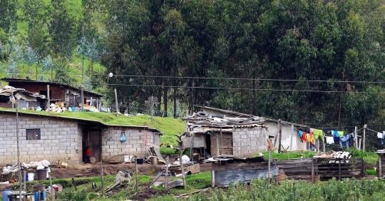 La pobreza en Ecuador creció más de 7 puntos en 2020 / Foto EFE