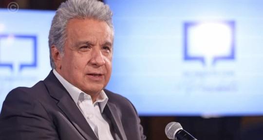 Moreno renuncia a Alianza País, partido que le llevó al poder y que quiere expulsarlo / Foto EFE