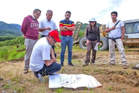 OBRA. El vivero se construirá en los terrenos del Gobierno Provincial, ubicados en el sector La Chacra, de la ciudad de Zamora. Foto: La Hora