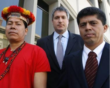 Abogados demandantes en el caso Chevron Ecuador