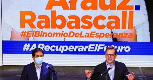 El correísmo en Ecuador postula al periodista Rabascall a la Vicepresidencia / Foto: EFE