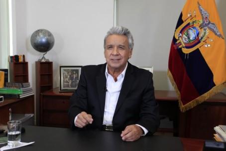 """Tanto por la pandemia del COVID-19, como por las repercusiones a causa de la caída del precio del petróleo, el presidente de la República, Lenín Moreno, considera """"Ecuador enfrenta el momento más crítico de su historia"""". Foto:"""