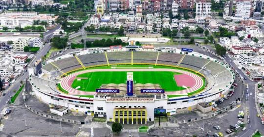 Estadio Atahualpa. Foto: El Oriente