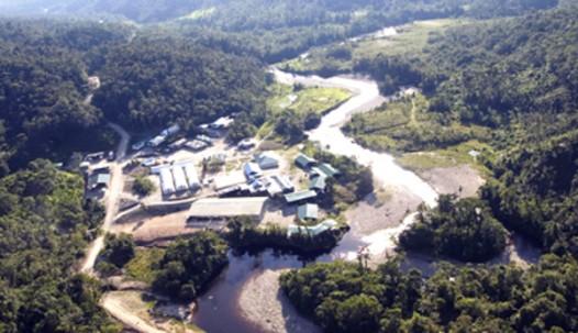 Explotación minera en Ecuador