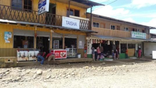 En el cantón Taisha de la provincia de Morona Santiago se registra un incremento en los casos de COVID-19. Cortesía