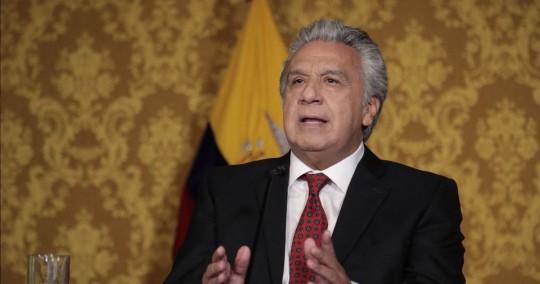 Lenín Moreno decreta estado de excepción por auge de covid-19 / Foto: Cortesía de la Presidencia
