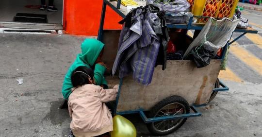 Grave retroceso de la infancia en Ecuador por la pandemia, advierte World Vision/ Foto: EFE