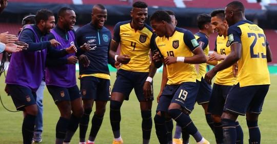 Ecuador ilusiona con el 4-2 sobre Uruguay / Foto: EFE
