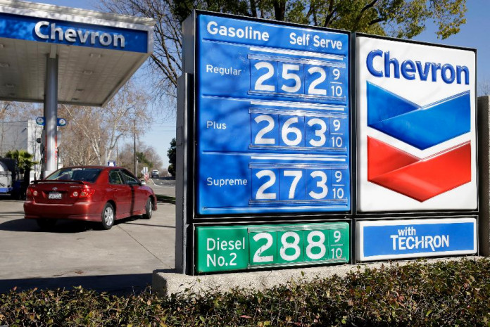 A Chevron gas station in Sacramento, California (AP Photo/Rich Pedroncelli, File)