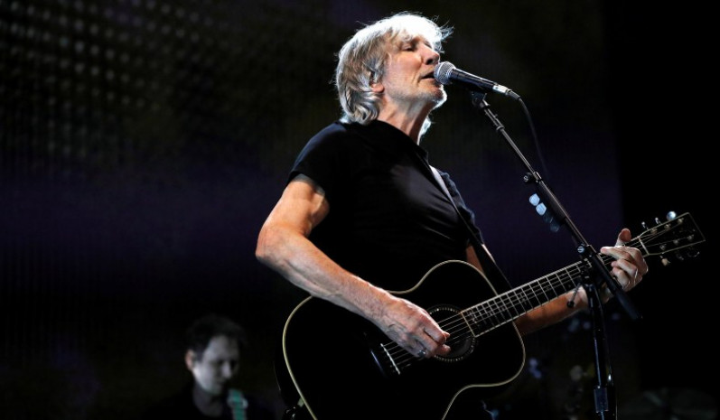 Roger Waters performs in Los Angeles, Calif., in 2017. Photo: National Review