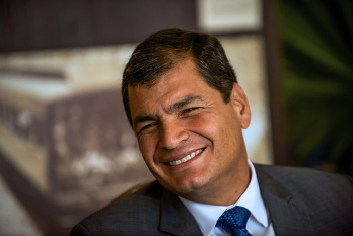 Ecuador's President Rafael Correa, a 51-year-old former economics professor who came to power in 2007 touting his ties to Chavez, last week traveled to China, the world's biggest crude importer, to ask for loans as the price of the country's Oriente crude fell to $40.93 a barrel.