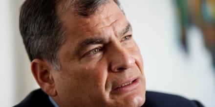Expresidente Correa dice que están inflando los votos de Yaku Pérez / Foto EFE