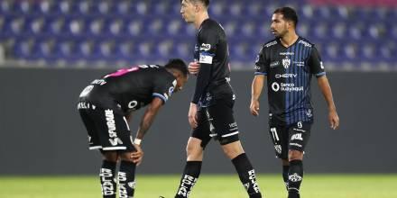 Independiente cedió un empate ante el Manta y no pudo alejarse en la punta / Foto: EFE